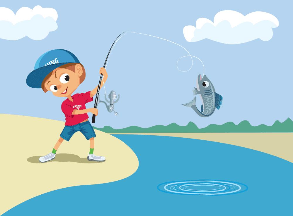 Explaining the action of fishing